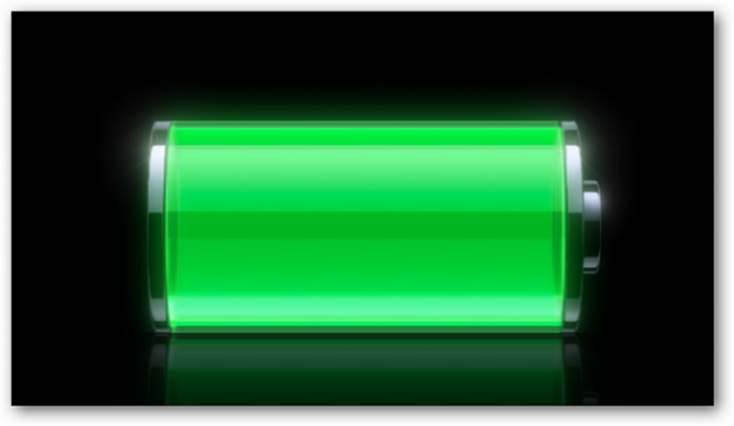 Charge your batteries